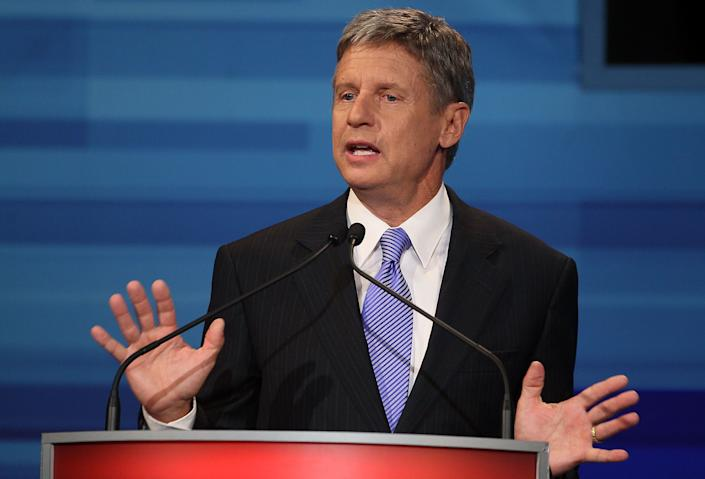 Johnson will seek the Libertarian Party's nomination.