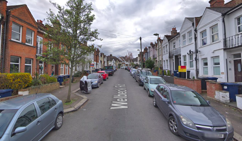 Officers were called to Welbeck Road in Barnet on Tuesday night following reports of a fight (Google)
