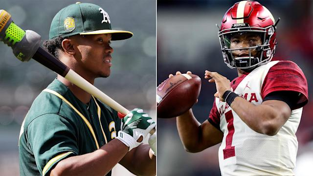 MLB's official twitter account weighed in on Kyler Murray' decision: pursue a baseball career with the A's or enter the NFL draft?