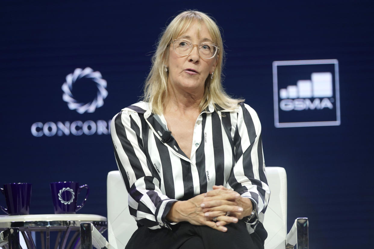 Marisa Drew, CEO of Impact Advisory and Finance Department at Credit Suisse. Photo: Riccardo Savi/Getty Images for Concordia Summit