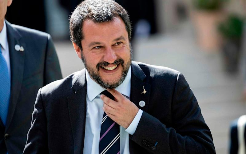 Italy's Interior Minister and Deputy Prime Minister Matteo Salvini - AFP
