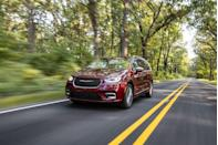 "<p>When it comes to hauling people and cargo, minivans are better than SUVs—a fact we wish more consumers would accept—and the <a href=""https://www.caranddriver.com/chrysler/pacifica"" rel=""nofollow noopener"" target=""_blank"" data-ylk=""slk:2021 Chrysler Pacifica"" class=""link rapid-noclick-resp"">2021 Chrysler Pacifica</a> is our current favorite. The Pacifica is a thoughtfully designed, comfortable family van, and its eager driving dynamics are the icing on the cake. Both a regular V-6 engine and a plug-in hybrid powertrain are offered, and in our testing, each proved to be reasonably fuel-efficient. The second and third rows fold completely flat to transform the Pacifica into a spacious cargo van, making it perfect for hauling bulky items. The Pacifica's entry-level models were <a href=""https://www.caranddriver.com/chrysler/voyager"" rel=""nofollow noopener"" target=""_blank"" data-ylk=""slk:rebranded as the Voyager"" class=""link rapid-noclick-resp"">rebranded as the Voyager</a> for 2020, so we review those bargain models separately. </p><p><a class=""link rapid-noclick-resp"" href=""https://www.caranddriver.com/chrysler/pacifica"" rel=""nofollow noopener"" target=""_blank"" data-ylk=""slk:Review, Pricing, and Specs"">Review, Pricing, and Specs</a></p>"