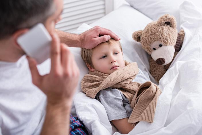 Is your child ill enough to stay home? A pediatrician shares her tips on dealing with sick days.