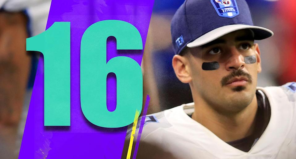 <p>It wasn't too crazy to think the Titans might lose on the road to the Colts. But like that? (Marcus Mariota) </p>