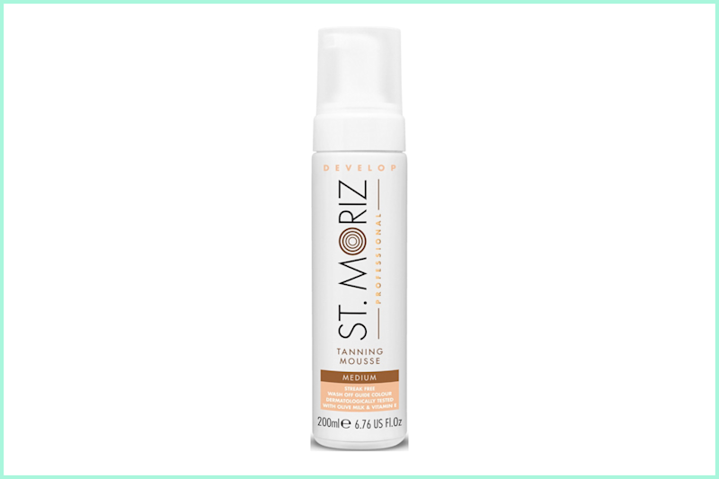 St. Moriz Instant Self-Tanning Mousse. (Photo: Ulta)