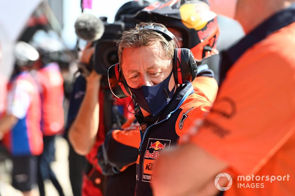"""Mike Leitner, Red Bull KTM Factory Racing<span class=""""copyright"""">Gold and Goose / Motorsport Images</span>"""