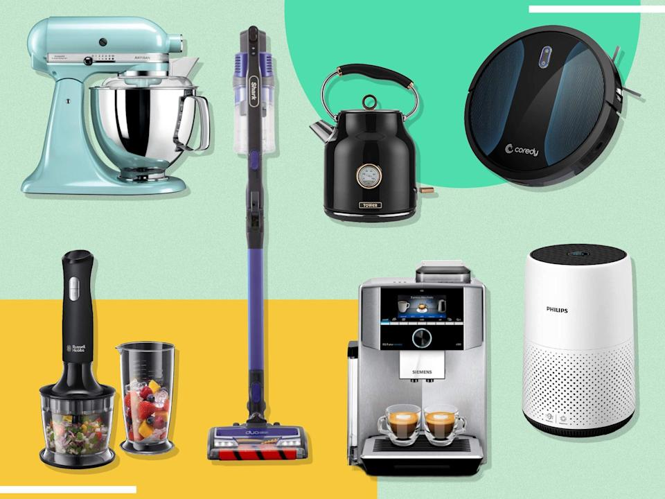 There's still one more day of Amazon Prime Day appliance deals to go  (The Independent)