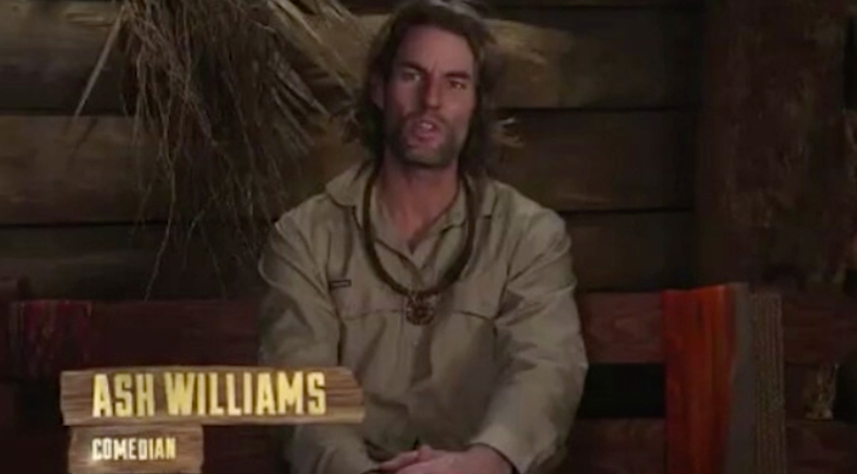 I'm A Celebrity... Get Me Out Of Here! star Ash Williams has revealed a bizarre way he used to make money. Photo: Channel 10.