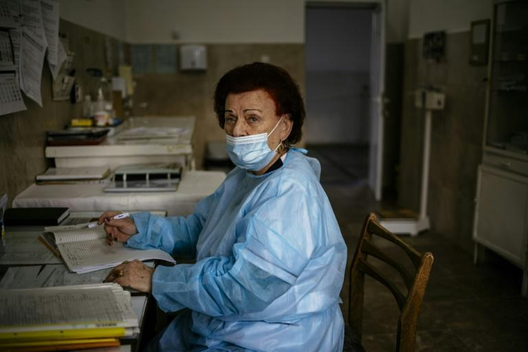 At 82, infectious disease specialist Dr Maria Bogoeva is one of the oldest doctors known to still be practising in the whole country