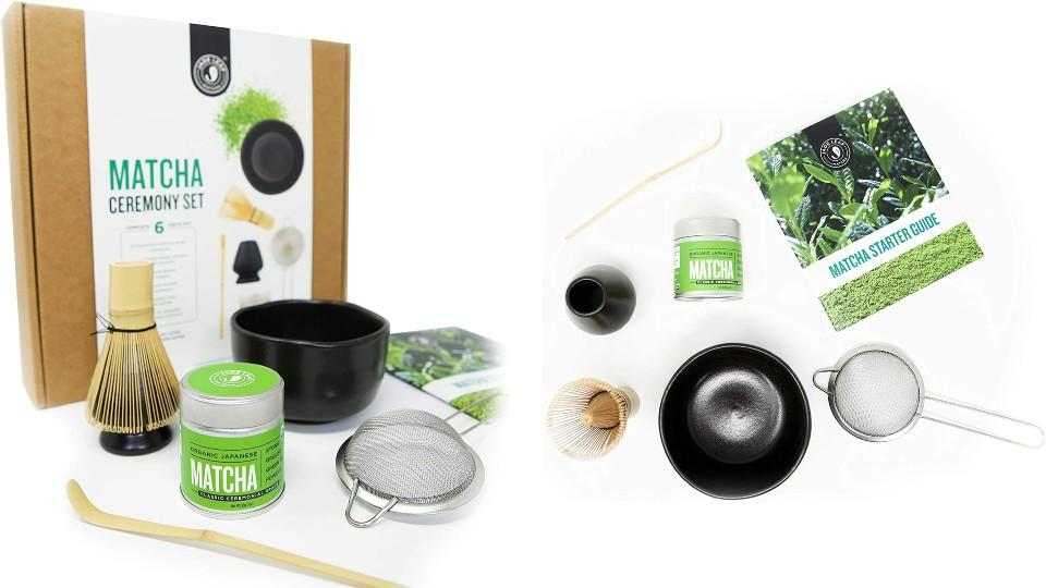 Jade Leaf Matcha Ceremony Gift Set - Amazon, $80