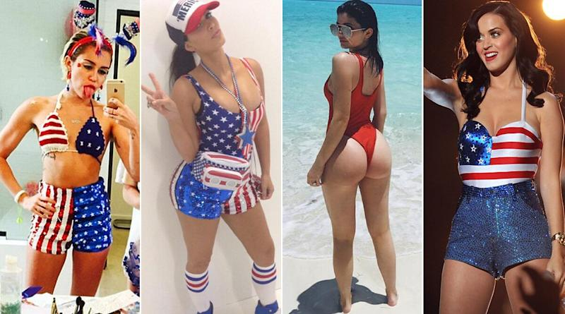 Hot Bikini Inspo for Fourth of July 2020: From Priyanka Chopra & Kim K to Mia Khalifa & Miley Cirus, Take Sexy July 4 Fashion Cues From Celebs