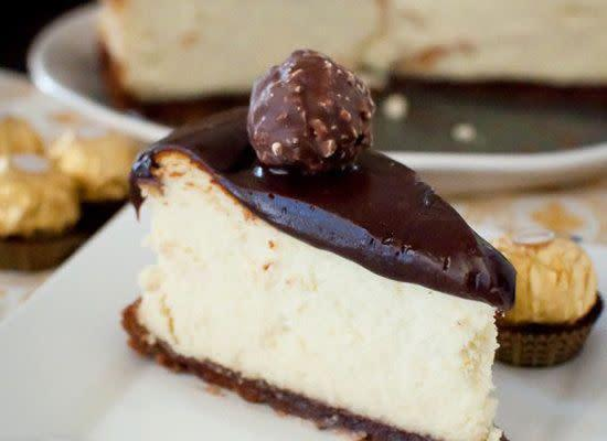 "<strong><a href=""http://kitchenconfidante.com/nutella-ganache-covered-cheesecake-recipe"" rel=""nofollow noopener"" target=""_blank"" data-ylk=""slk:Get the Nutella Ganache Covered Cheesecake recipe from Kitchen Confidante"" class=""link rapid-noclick-resp"">Get the Nutella Ganache Covered Cheesecake recipe from Kitchen Confidante </a></strong>"