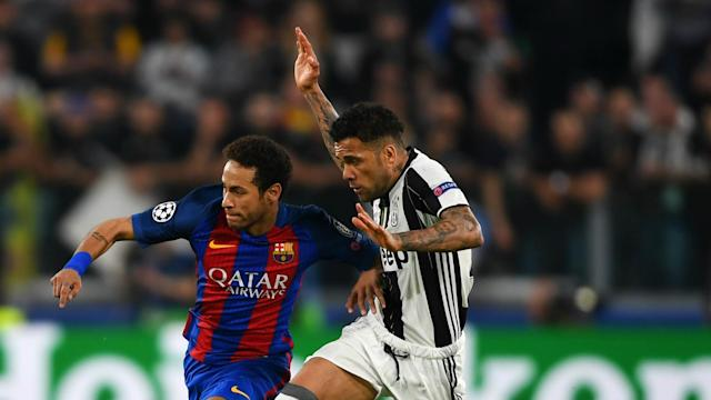 Barcelona came from 4-0 down to knock out PSG in the Champions League, so Juventus have to try to score at Camp Nou, says Dani Alves.