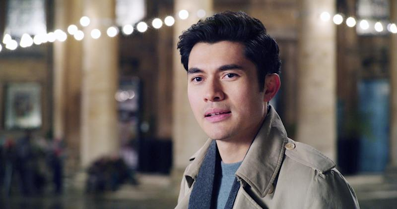 LAST CHRISTMAS, Henry Golding, 2019. Universal / courtesy Everett Collection
