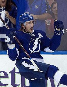 It's been a productive campaign for the Lightning's Steven Stamkos