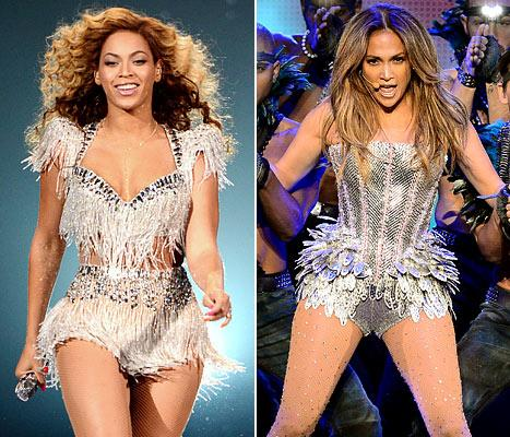 Who Has the Sexier On-Stage Style: Beyonce or Jennifer Lopez?