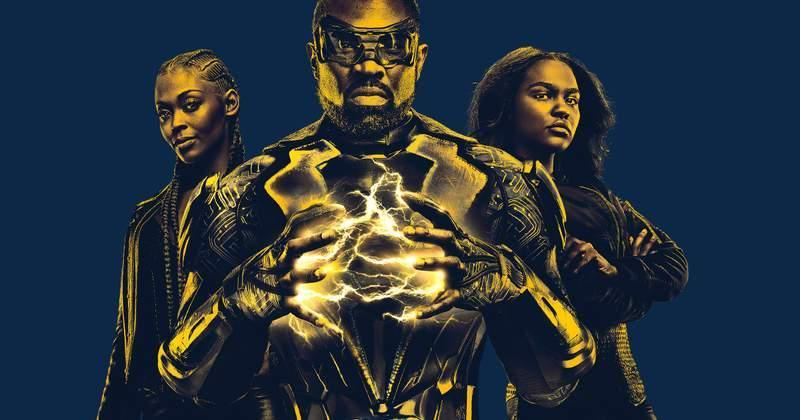Cress Williams plays the titular hero while Nafessa Williams and China Anne McClain play his daughters Anissa and Jennifer (Netflix)