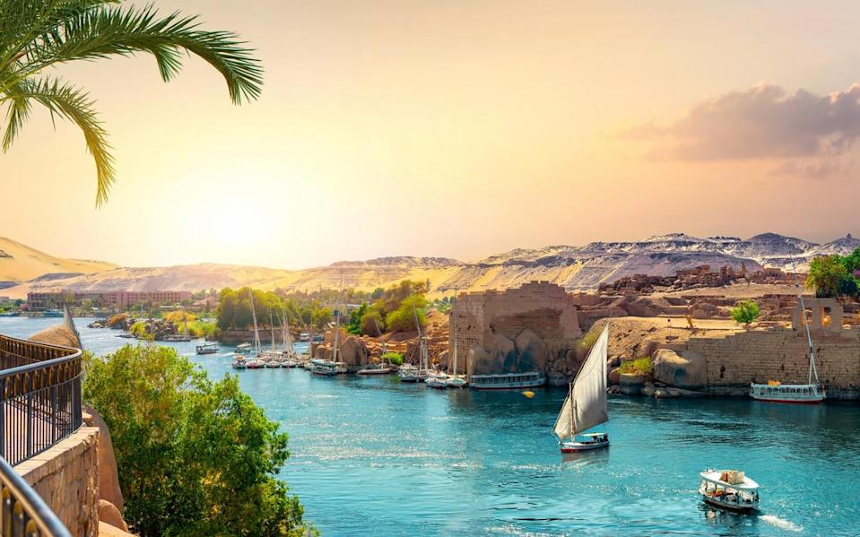 Egypt's Nile river is well and truly steeped in ancient history - istock