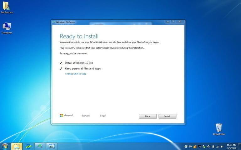 actualizar de windows 7 a 10 final set up 2 768x768