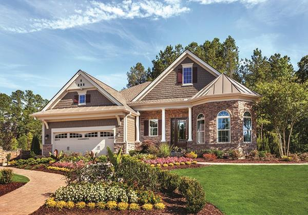 The Bowan, Regency at White Oak Creek, Apex, NC:Toll Brothers, America's Luxury Home Builder