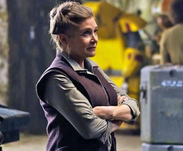 Carrie Fisher in 'Star Wars: The Force Awakens' (Photo: Walt Disney Studios Motion Pictures/Lucasfilm Ltd.)
