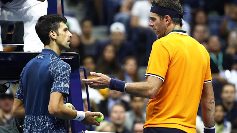 Djokovic headed for bright finish with U.S. Open win