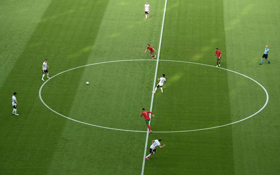 Germany get the game started - GETTY IMAGES