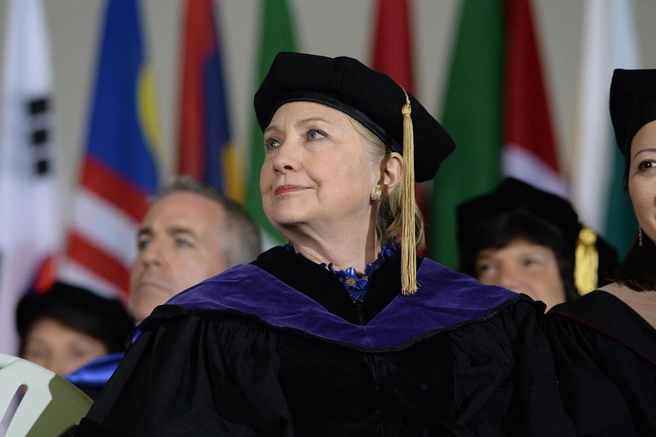 Hillary Clinton's Wellesley commencement speech was a scathing Trump roast
