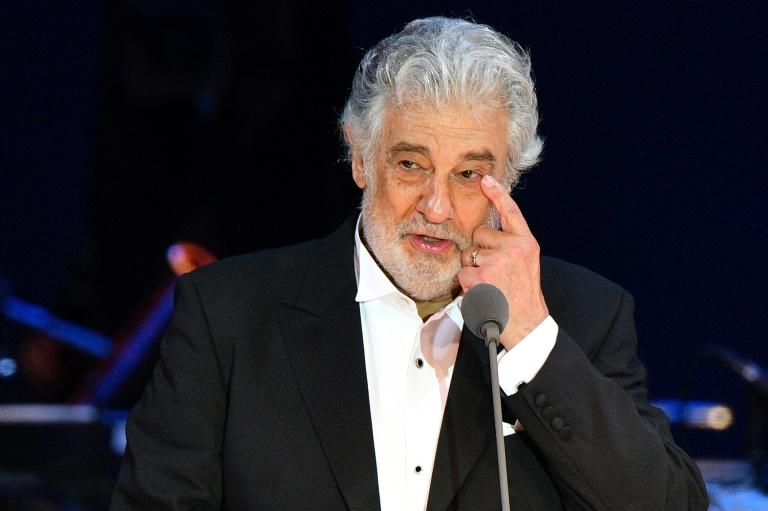 Allegations against Placido Domingo first surfaced in August 2019 and in months had effectively ended his US career (AFP Photo/Attila KISBENEDEK)