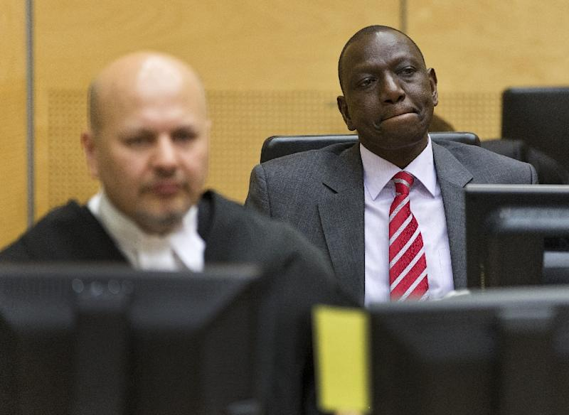 ICC dismisses case against Kenya's deputy president