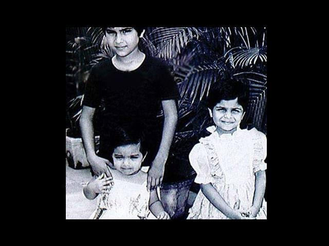 12. This royal trio is Nawab of Pataudi Saif Ali Khan with his sisters Soha and Saba. Saif was born on June 16th, 1970 and Soha on 4th October, 1978. Their paternal grandmother was Sajida Sultan, Begum of Bhopal and their great-uncle was Pakistani general Sher Ali Khan Pataudi.