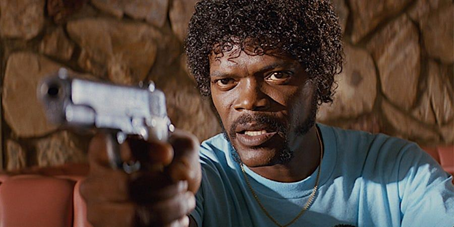 Laurence Fishburne earned an Oscar nomination for his Pulp Fiction performance (Image by Miramax Pictures)