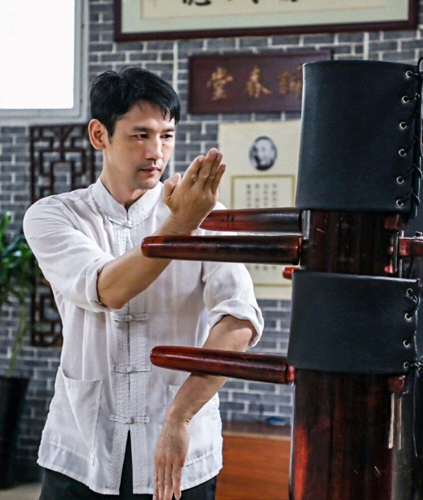 Dong Chonghua says Foshan's revitalisation of kung fu means there are more opportunities for people interested in the martial arts. Photo: Handout