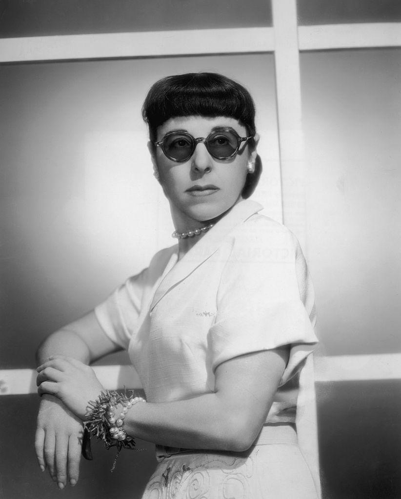 """<p>Now, costume designer Edith Head (pictured here) was the real creative deal, but anyone who sought to imitate her eccentric approach to personal style would be considered pretentious or """"artsy."""" </p>"""