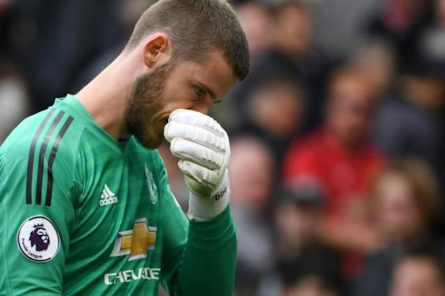 David de Gea has entered the final year of his contract at Manchester United (AFP Photo/Paul ELLIS)