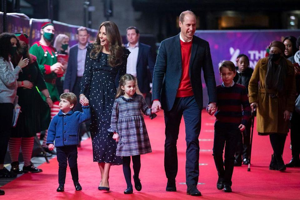 <p>The Cambridge family attended a pantomime performance staged especially for frontline workers and their families this holiday season. </p>