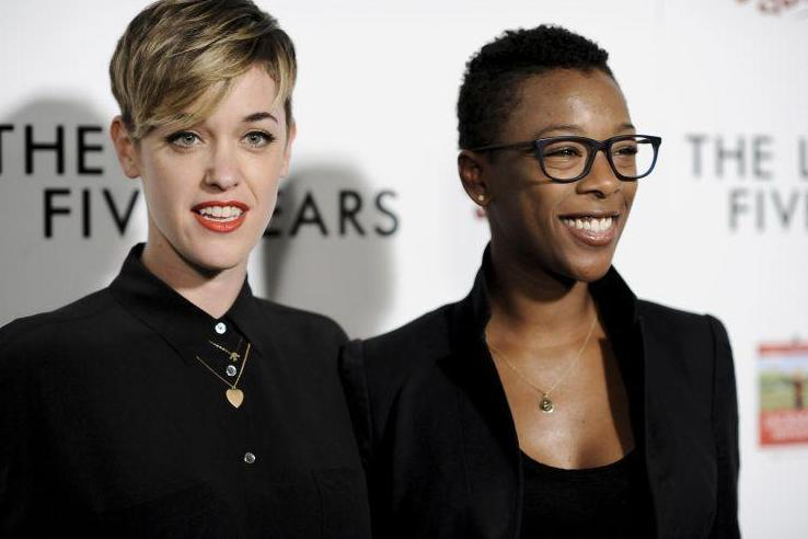 Tied the knot: Lauren Morelli and Samira Wiley's wedding snap went viral: AP