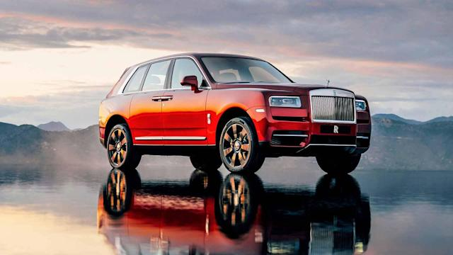 The super-luxury SUV is in Manchester for a special display.