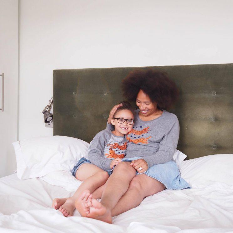 Style Me Sunday's Natalie twinning with her daughter [Photo: Natalie Alexis Lee]