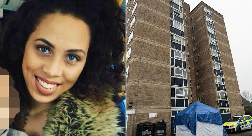 Annabelle Lancaster was found dead outside a block of flats in north London on Sunday (Pictures: Facebook/PA)