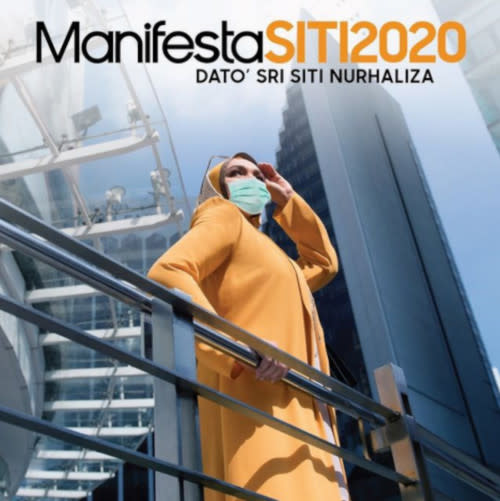 "Datuk Siti has also recently released her new album ""ManifestaSITI2020"