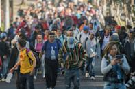 As soon as one caravan leaves, plans for the next one swamp social media, with hundreds of interested parties firing off questions, engaging in discussions or sharing their hopes and fears