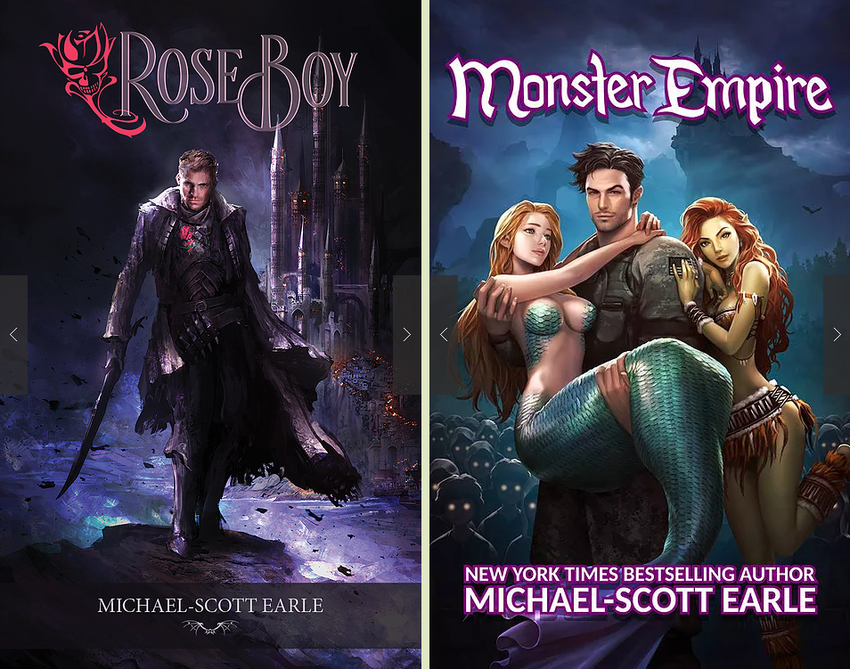 Michael-Scott Earle has written over 45 novels, which have sold over 300,000 copies to date.