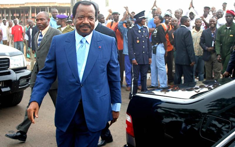 Cameroon's President Paul Biya - Credit: AFP/Getty Images