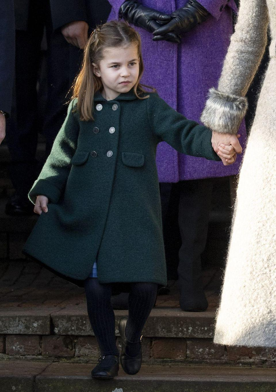 <p>Thanks to the Succession to the Crown Act of 2013, which mandated that the line of succession be governed by absolute rather than male-preference primogeniture, Princess Charlotte is the first female member of her family not to have her younger brother leapfrog over her in the line of succession. Though our chances of seeing a Queen Charlotte take the throne are slim—especially since she <em>will</em> be leapfrogged over by George's kids—it could still happen for this sassy 5-year-old!</p>
