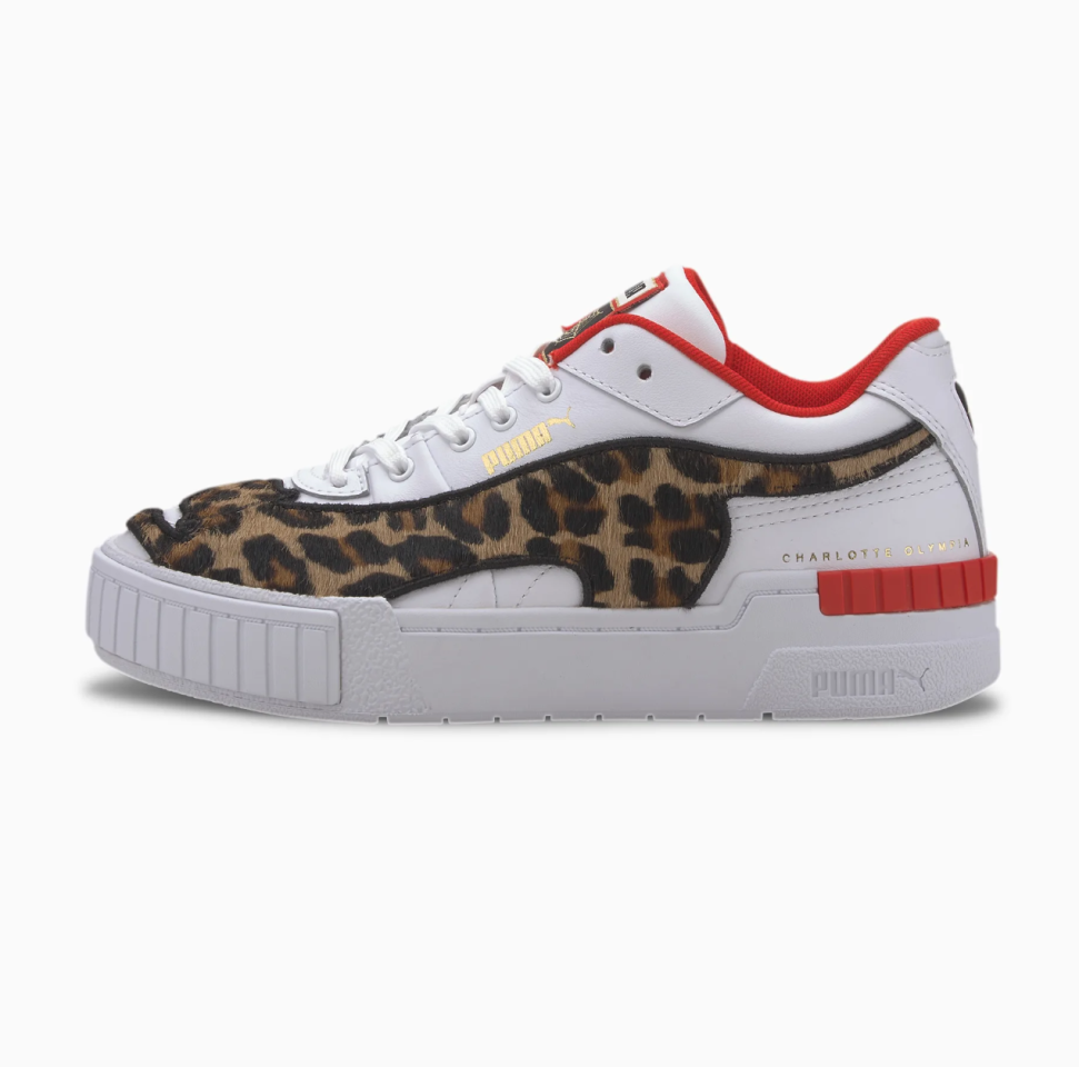 """<p><strong>PUMA x CHARLOTTE OLYMPIA Cali</strong></p><p>puma.com</p><p>$100.00</p><p><a class=""""body-btn-link"""" href=""""https://go.redirectingat.com?id=74968X1596630&url=https%3A%2F%2Fus.puma.com%2Fen%2Fus%2Fpd%2Fpuma-x-charlotte-olympia-cali-sport-womens-sneakers%2F371408.html%3Fdwvar_371408_color%3D01&sref=https%3A%2F%2Fwww.seventeen.com%2Flife%2Fschool%2Fg3054%2Fbest-graduation-gifts-for-her%2F"""" target=""""_blank"""">SHOP NOW</a></p><p>Leopard print ✔️Crimson lining ✔️Funky creeper sole ✔️ Yep, these are the ultimate sneakers.</p>"""