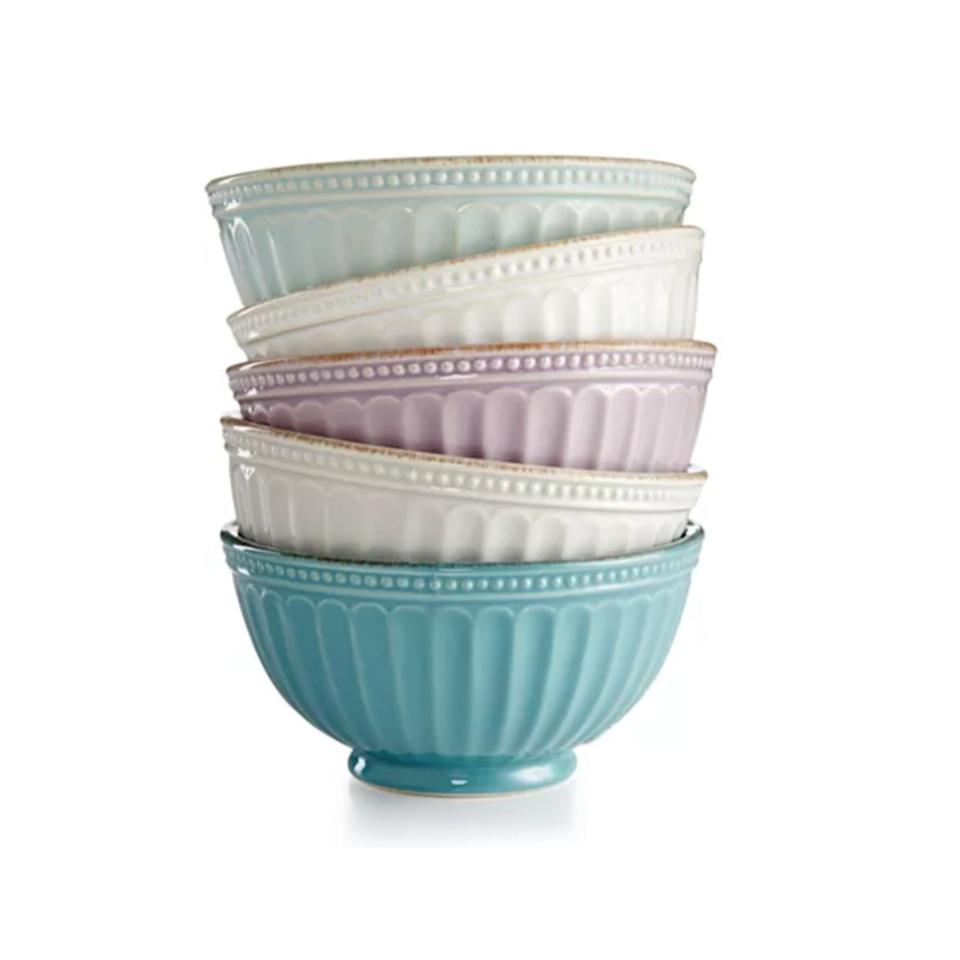 Lenox French Perle Groove Collection. (Photo: Macy's)