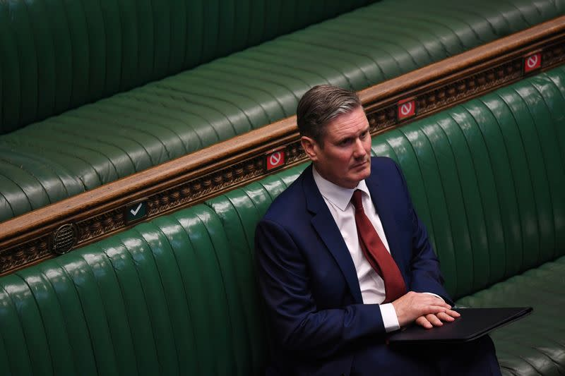 Labour leader Starmer is self-isolating