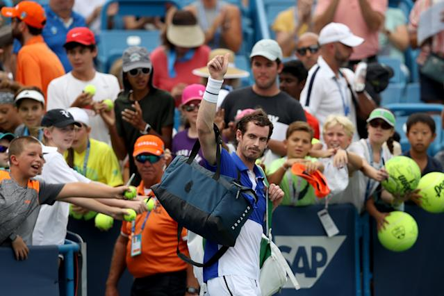 Murray is now pain free and looking to get back to his best after career saving surgery. (Credit: Getty Images)