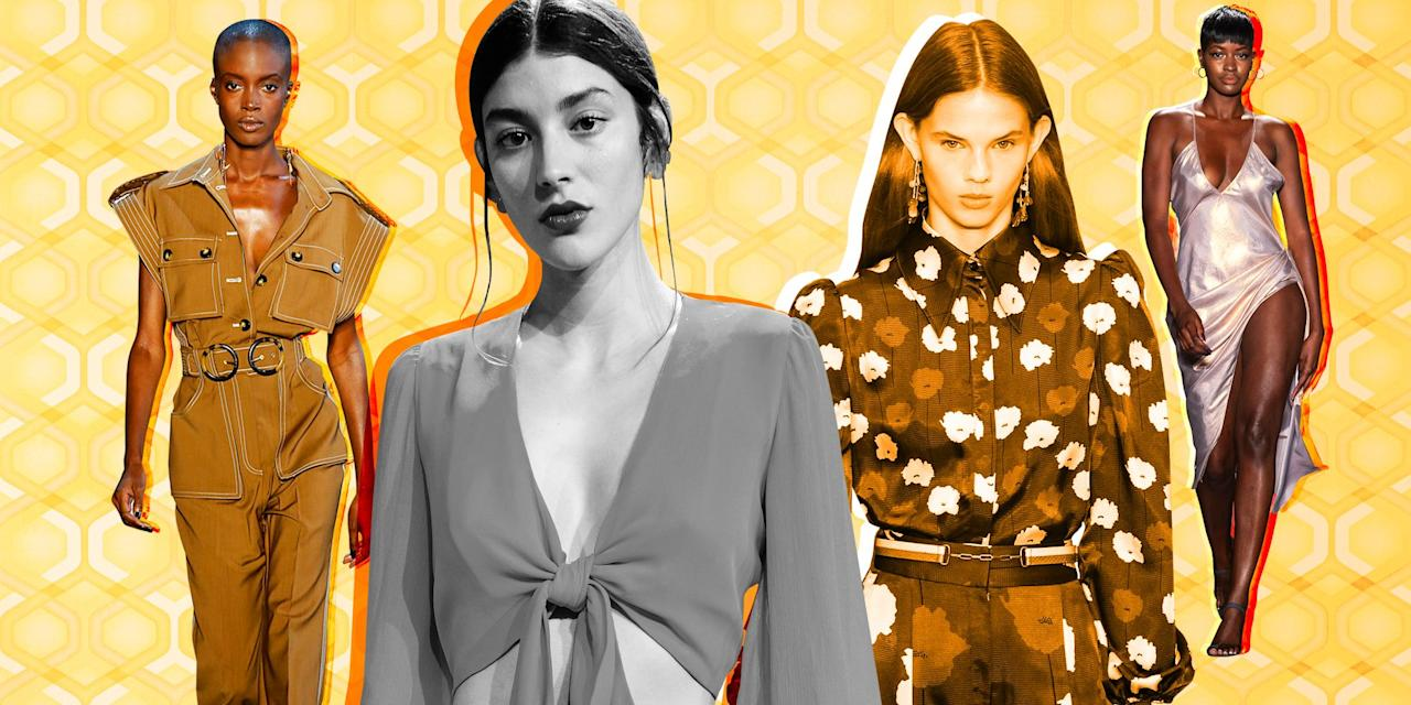 "<p>""Everything that's old is new again"" is a common refrain, but it's true. From chokers to wide-leg pants, it's like back to the future in my Amazon shopping cart. High-fashion designers in particular are making a major case for a return to the '70s, which was a wild decade full of disco and revolutions. In the following gallery, see all the retro trends that are coming back into style and find out where you can shop the pieces for yourself. </p>"